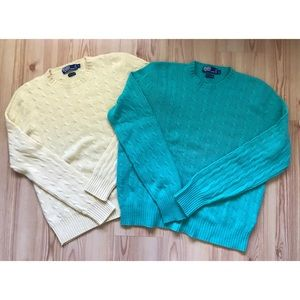 Polo Ralph Lauren Cashmere Sweaters x2